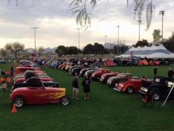 Havasu Deuce Show Connects 1932 Ford Enthusiasts