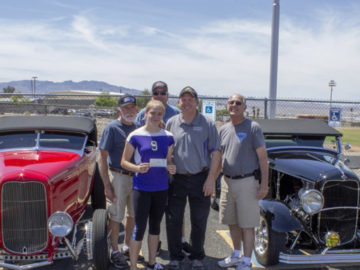 Scholarship Awarded to High School Student by Havasu Deuces