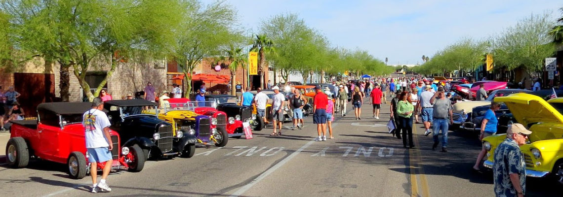 Deuce night in Lake Havasu City was part of the 32 Ford Show