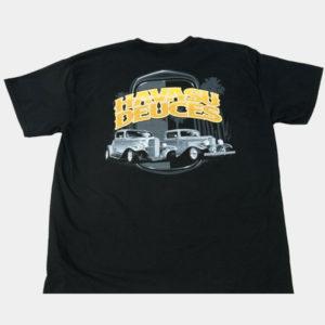 Havasu Deuces car show t-shirt black