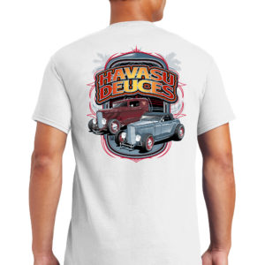 2021 Havasu Deuces Tee Shirt