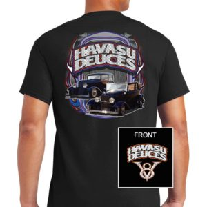 2019 Havasu Deuces tee shirt black