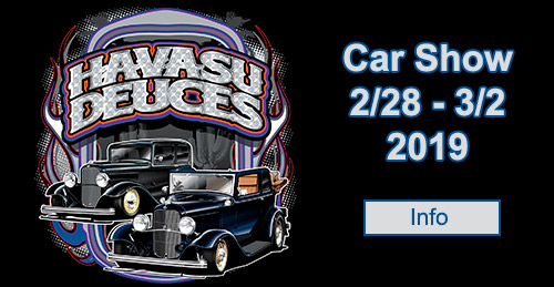 Havasu Deuces car show 2019 information